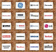 kitchen appliance companies top famous kitchen appliance brands and logos editorial image