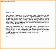 5 apology love letter cashier resume