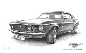 Black 69 Mustang Fastback Ford Mustang 69 Fastback Car Autos Gallery