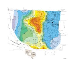 Slippery Rock University Map Calendar U2014 Austin Geological Society