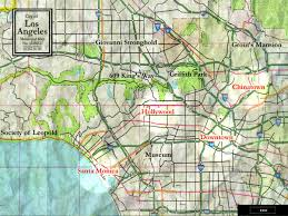 Map Of Gang Territories In Los Angeles by Los Angeles Cwod White Wolf Fandom Powered By Wikia