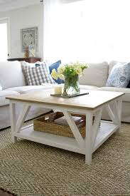farmhouse style coffee table stylish coffee table plans to base your next project on