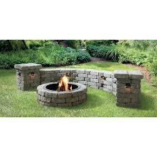 Lowes Firepit Kit Lowes Brick Pit Tomnielsen Me