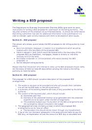 Writing A Business Proposal Letter by Formdocs Electronic Forms Software Bid Proposal Work Order