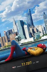 spider man homecoming poster has tom holland chilling collider