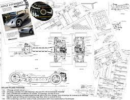 Plan Set by Xr3 Plug In Hybrid A Three Wheeled 125 Mpg 225 Mpge Hybrid