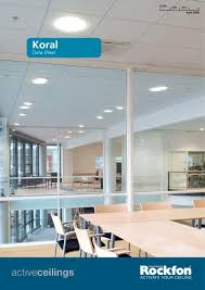 Rockfon Mono Acoustic Ceilings by Koral Rockfon Pdf Catalogues Documentation Brochures