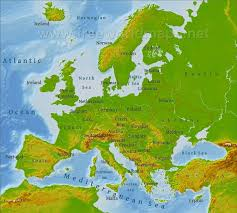free world maps map of europe labeled europe physical map freeworldmaps with 750 x