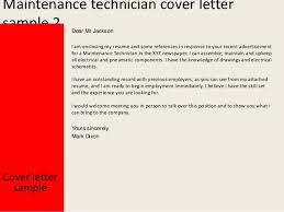 Sample Resume Maintenance Technician by Maintenance Controller Cover Letter