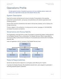 disaster recovery plan template apple iwork pages