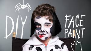Diy Makeup Halloween by Diy Face Paint Dog Makeup For Halloween Youtube