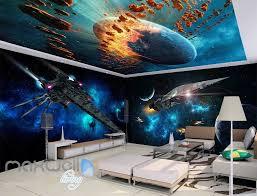 3d star wall spacecraft battle wall murals wallpaper paper art 3d star wall spacecraft battle wall murals wallpaper paper art print decor idcqw 000340