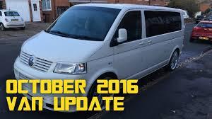 vw t5 campervan conversion october 2016 update youtube