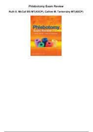 phlebotomy exam review pdf 1