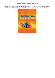 phlebotomy exam review pdf 1