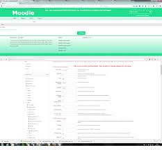 moodle in english cas authentication in moodle exception error