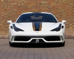 ferrari gold one of a kind ferrari 458 speciale is up for sale black white