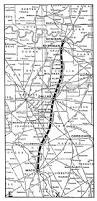 Waco Map Electric Railway Company Tex Map Showing Route In 1945