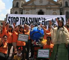 Trashing by Stop Trashing The Climate Report Connects Waste And Global Warming