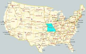State Map Usa by Download Map Usa Missouri Major Tourist Attractions Maps