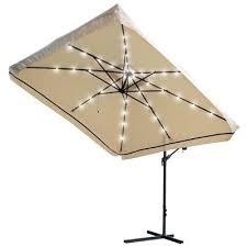 patio umbrella with solar led lights ideas offset patio umbrella with solar lights or square offset patio