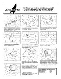 air vent inc airhawk wind turbine installation instructions