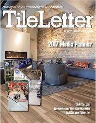 tileletter advertising opportunities national tile contractors