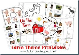 farm theme printables u0026 more 1 1 1 u003d1