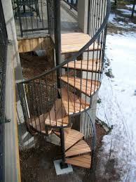 prefab stairs outdoor home depot exterior stair kits building