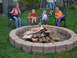 Building A Firepit In Your Backyard Pits Designs Laphotos Co