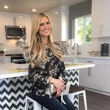 Kitchen Counter Designs Christina El Moussa U0027s Bold Kitchen Counter Design Popsugar Home