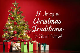 make memories 11 unique traditions to start now
