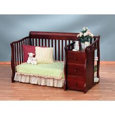 Storkcraft Portofino Convertible Crib And Changer Combo Espresso by Tuscany Convertible Crib And Changer Combo Espresso Creative
