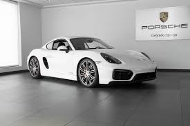 porsche cayman white 2015 porsche cayman gts for sale in colorado springs co 18012j
