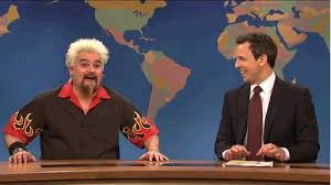 saturday live mocks fieri new york times review offers