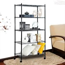 Metal Wire Storage Shelves Best Steel Shelving Units U0026 Storage Racks Reviews Findingtop Com