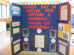 baseball bat science fair project which bat is better for