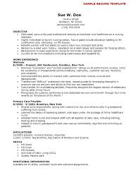 resume templates nursing resume templates nursing exle template