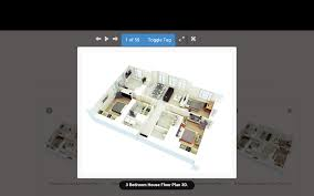 house design plans 3d 3 bedrooms 3d home design android apps on google play