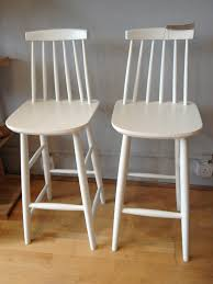 Wood Bar Chairs White Wood Bar Stools Homesfeed