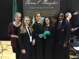 Images Of The Irish Flag Villiers News Thomas F Meagher Foundation Flag Presentation