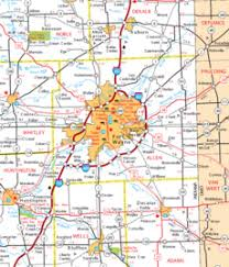 map of allen allen county in the radioreference wiki