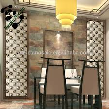 smg01 unique latest design wall tiles yellow electroplate copper