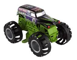 rc monster truck grave digger amazon com wheels monster jam grave digger truck toys u0026 games