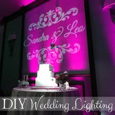 wedding backdrop lighting kit diy wedding lighting the budget savvy