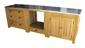 meuble cuisine sur meuble cuisine en chene facade meuble cuisine bois brut facade