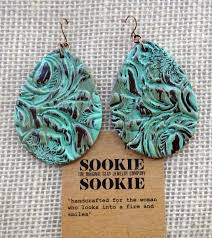 sookie sookie earrings earrings handmade sookie sookie faux leather