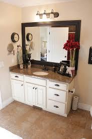 bathroom mirror trim ideas best 25 framed bathroom mirrors ideas on framing a