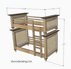 Free Bunk Bed Plans Twin Over Double by 38 Best Beds Images On Pinterest Bedroom Ideas Furniture Ideas