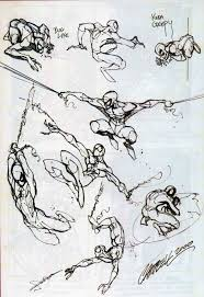 spider man sketches j scott campbell c comic art community